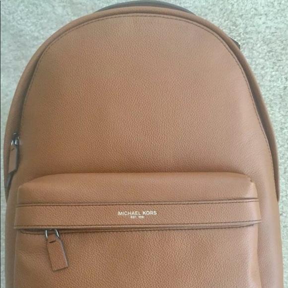 NEUER Michael Kors Russel Leder Backpack